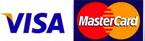 mastercard and visa accepted